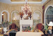 Home Plan - Mediterranean Interior - Family Room Plan #417-527