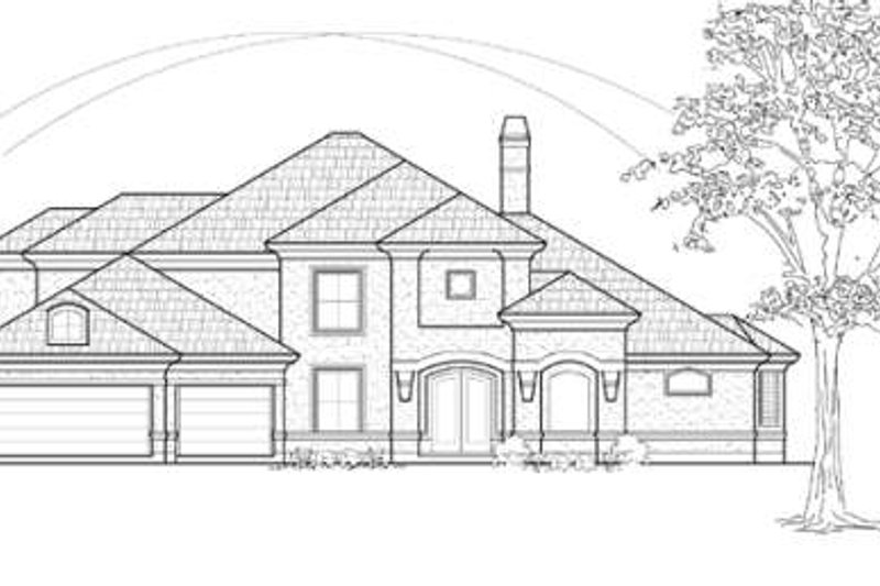 Traditional Exterior - Other Elevation Plan #61-290 - Houseplans.com