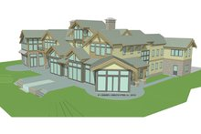Architectural House Design - Traditional Exterior - Rear Elevation Plan #928-247