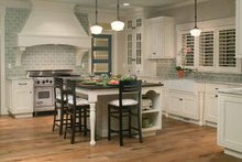 Traditional Interior - Kitchen Plan #928-23