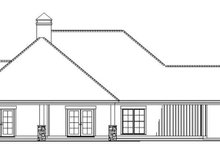 House Plan Design - Country Exterior - Other Elevation Plan #17-3375