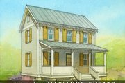 Cottage Style House Plan - 2 Beds 1 Baths 936 Sq/Ft Plan #514-13 Exterior - Front Elevation