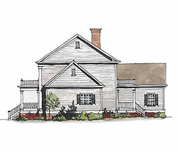 Classical Floor Plan - Other Floor Plan Plan #429-186