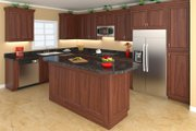 Country Style House Plan - 3 Beds 2.5 Baths 1951 Sq/Ft Plan #21-369 Interior - Kitchen