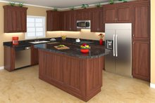 Country Interior - Kitchen Plan #21-369