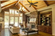 Craftsman Style House Plan - 3 Beds 2.5 Baths 2735 Sq/Ft Plan #48-542 Interior - Family Room