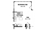 Colonial Style House Plan - 4 Beds 2.5 Baths 2089 Sq/Ft Plan #316-291 Floor Plan - Other Floor Plan