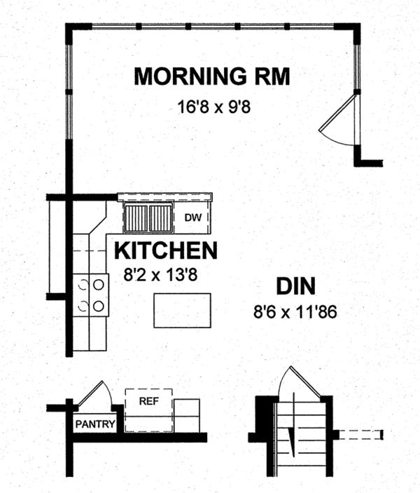 Home Plan - Colonial Floor Plan - Other Floor Plan #316-291