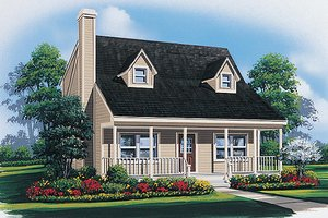 Traditional Exterior - Front Elevation Plan #57-435