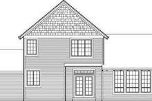 Craftsman Exterior - Rear Elevation Plan #48-111