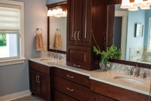 House Plan Design - Ranch Interior - Master Bathroom Plan #928-2