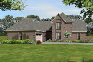 Traditional Exterior - Front Elevation Plan #81-13838