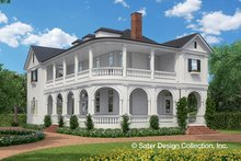 Classical Exterior - Front Elevation Plan #930-460