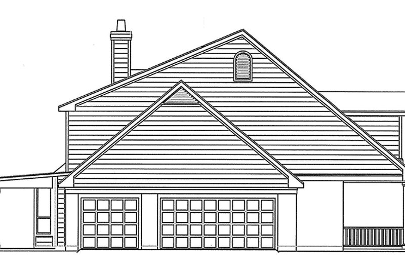 Country Exterior - Other Elevation Plan #472-230 - Houseplans.com