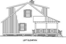 House Plan Design - Cottage Exterior - Other Elevation Plan #17-2015