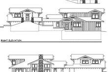 Prairie Exterior - Rear Elevation Plan #124-553