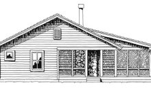 Country Exterior - Other Elevation Plan #942-13