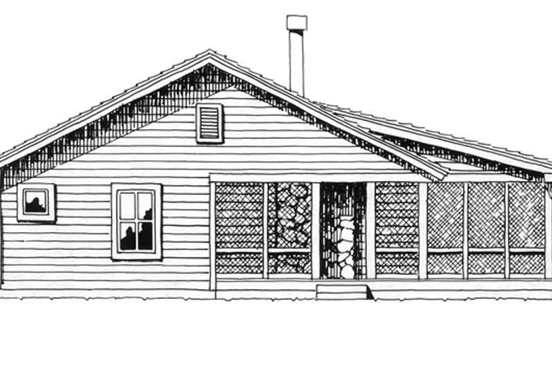 Country Exterior - Other Elevation Plan #942-13 - Houseplans.com