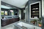 Contemporary Style House Plan - 4 Beds 4.5 Baths 6717 Sq/Ft Plan #928-261 Interior - Master Bathroom