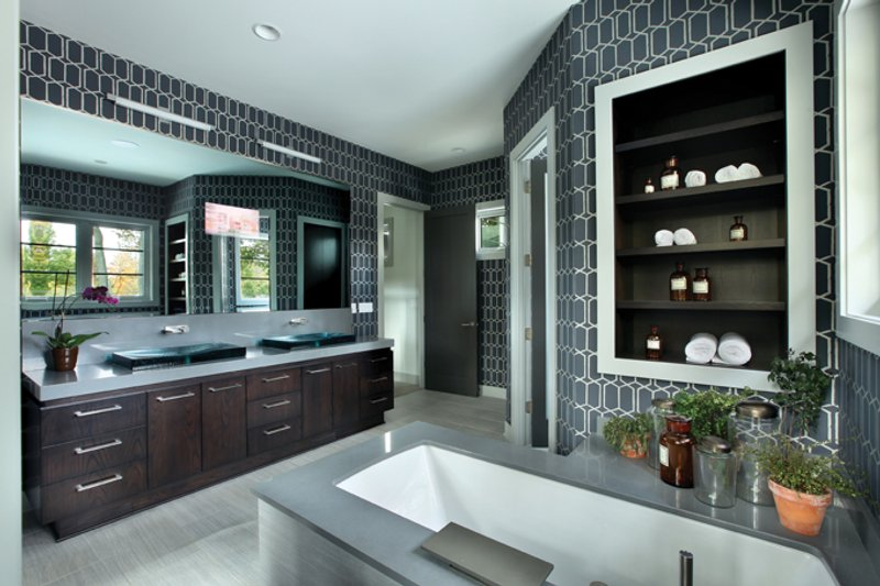 Contemporary Interior - Master Bathroom Plan #928-261 - Houseplans.com