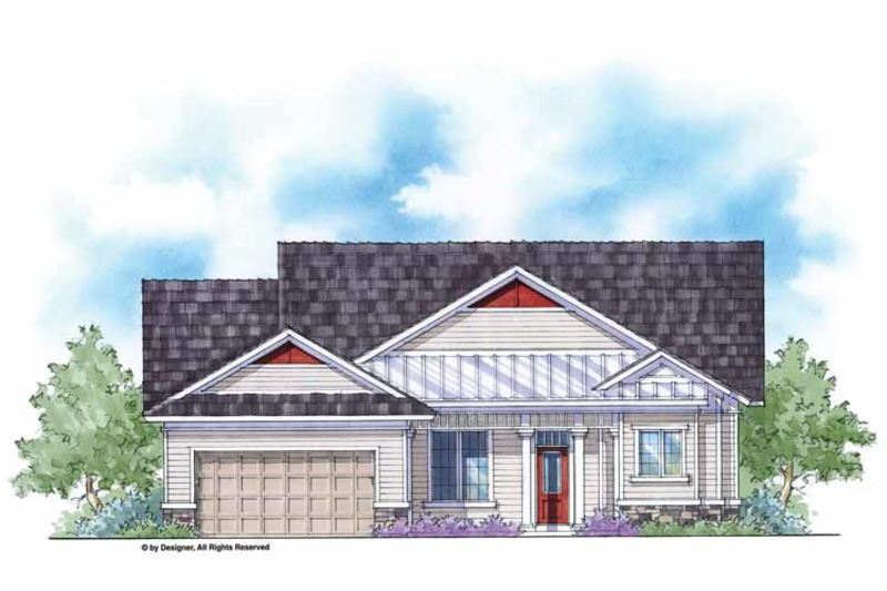 Country Exterior - Front Elevation Plan #938-34 - Houseplans.com