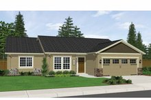 House Plan Design - Ranch Exterior - Front Elevation Plan #943-10