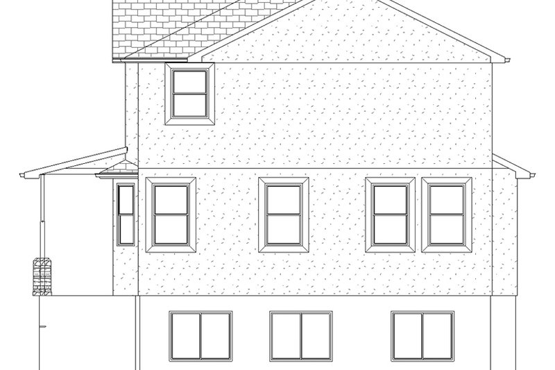 Traditional Exterior - Other Elevation Plan #1060-32 - Houseplans.com
