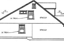 Dream House Plan - Country Exterior - Other Elevation Plan #472-398