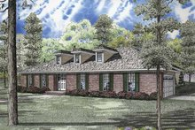Ranch Exterior - Front Elevation Plan #17-2832