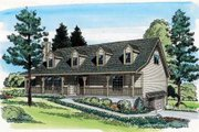Country Style House Plan - 4 Beds 2.5 Baths 2381 Sq/Ft Plan #312-592 Exterior - Front Elevation