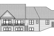 Craftsman Style House Plan - 5 Beds 4.5 Baths 4773 Sq/Ft Plan #51-334 Exterior - Rear Elevation