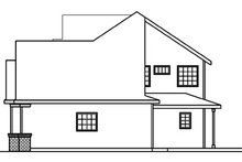 Traditional Exterior - Other Elevation Plan #124-361