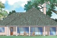 Ranch Exterior - Rear Elevation Plan #930-95