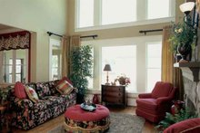 Dream House Plan - European Interior - Family Room Plan #927-24