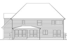 Dream House Plan - Country Exterior - Rear Elevation Plan #48-331