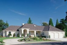 Home Plan - Contemporary Exterior - Front Elevation Plan #48-294