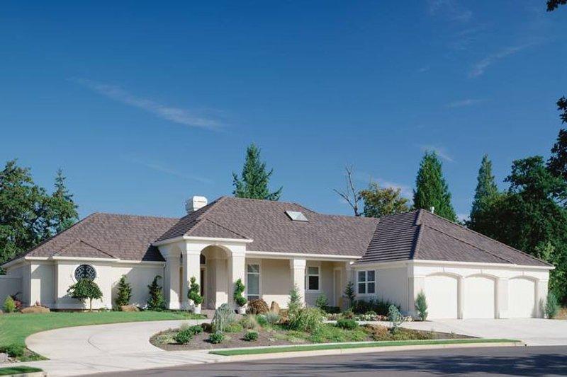 Contemporary Exterior - Front Elevation Plan #48-294 - Houseplans.com