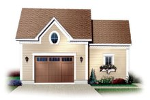 Home Plan - Traditional Exterior - Front Elevation Plan #23-434