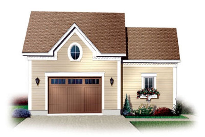 Traditional Exterior - Front Elevation Plan #23-434