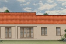 Mediterranean Exterior - Rear Elevation Plan #1058-5
