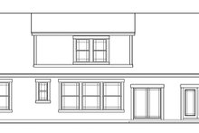 Country Exterior - Rear Elevation Plan #472-239