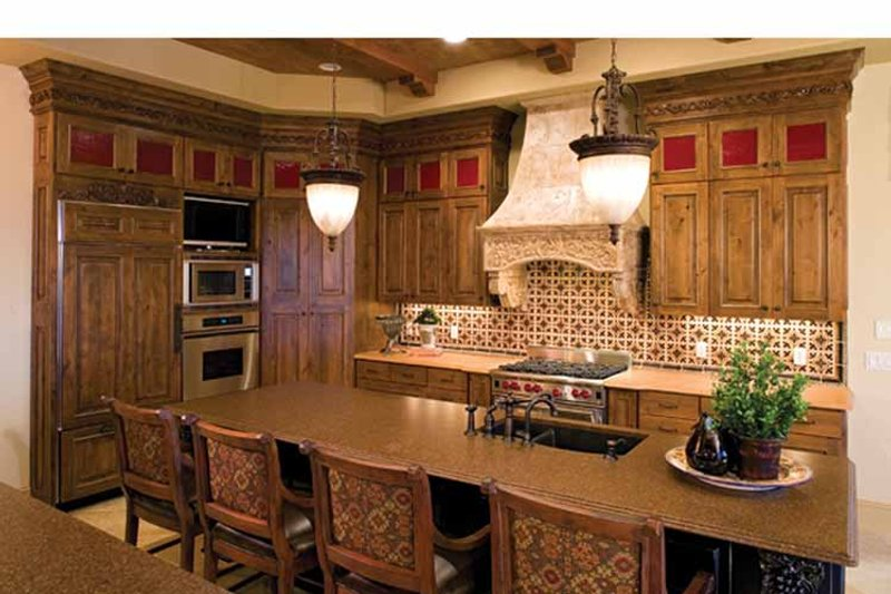 European Interior - Kitchen Plan #51-1073 - Houseplans.com