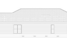 Country Exterior - Other Elevation Plan #17-3057