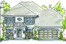 House Design - Traditional Exterior - Front Elevation Plan #20-246