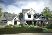 House Plan Design - Country Exterior - Front Elevation Plan #120-250