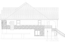 Dream House Plan - Traditional Exterior - Other Elevation Plan #1060-61