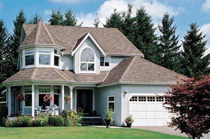 House Blueprint - Victorian Exterior - Front Elevation Plan #47-842