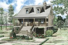 Mediterranean Exterior - Front Elevation Plan #17-3300