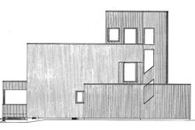 Contemporary Exterior - Other Elevation Plan #320-1018