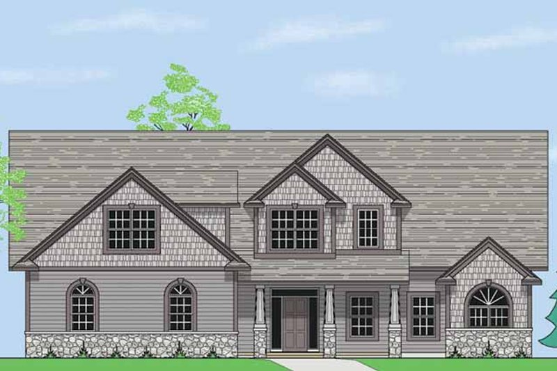 Country Exterior - Front Elevation Plan #981-9 - Houseplans.com